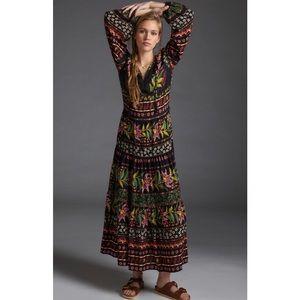 Anthropologie Farm Rio Glynn Maxi Dress